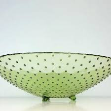 large glass decorative bowl vintage large hobnail green glass footed serving bowl glass decorative salad bowl light green huge decorative glass bowls