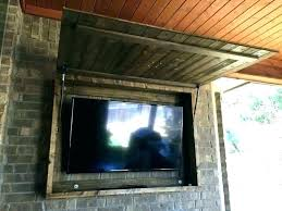 outdoor weatherproof tv covers nz cover television waterproof best enclosure outside cabinet medium size of patio