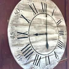 36 inch wall clock terrific in wall clock metal wall clock large rustic wall clock 36 36 inch wall clock