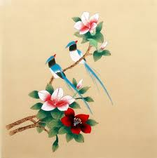 chinese paintings other flowers other flowers 40cm x 40cm 16 x 16 2340019