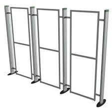 Fold Up Display Stands Metro Portable 100 Section Display Stand Metro Exhibition Display 2
