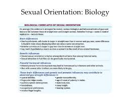 introductory psychology sex sexual orientation biology