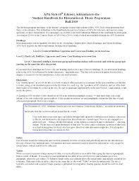 Apa Style Format Sample Paper Monzaberglauf Verbandcom