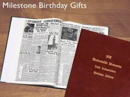 70th birthday presents memorable moments