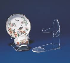 Acrylic Plate Stands For Display Awesome Plate Stands And Bowl Easels