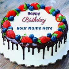 Happy Birthday Cakes With Name Images Of Happy Birthday Cake Name