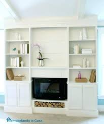 fireplace built in cabinets bookcase built ins with fireplace insert featuring la fireplace built ins design fireplace built in cabinets