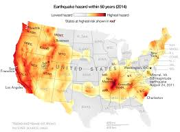 Earthquake Maps Reveal Higher Risks For Much Of U S