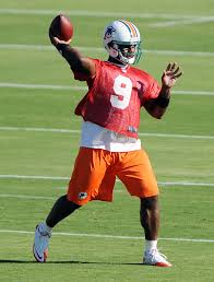 Miami Qb Depth Chart Nfl Garrard Maybe The Starter David Garrard Is Listed As