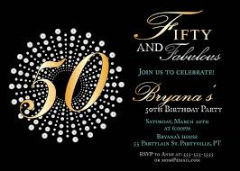 50th Invitation Templates Business Template Ideas