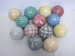 Decorative Ceramic Balls Sale Best Antique Ceramic Carpet Balls Great Colors Decorative Sale Orbs