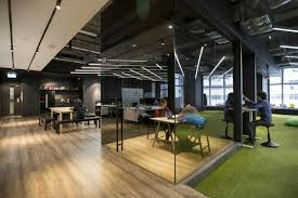 office space area lighting warehousing. hong kong warehouse converted to creative office space httpfreshomecom area lighting warehousing a
