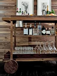 Decorating A Bar Cart Bar Bar Cart Plans