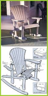 outdoor furniture trends. Woodworking Projects Adirondack Chair Incredible Fortune Pattern Rocking Plans Outdoor Furniture Of Trends F