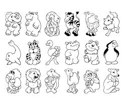 Winter Animals Coloring Pages Winter Animal Coloring Pages Free