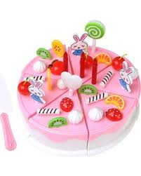 Dont Miss Summer Sales On 39pcs Cake Cutting Toys Pretend Play Food