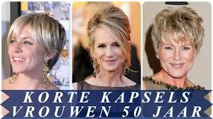 Korte Kapsels Voor Vrouwen Boven De 50 Jaar 2018