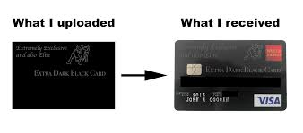 How To Design Your Own Debit Card Wells Fargo Best Credit Card Ever The Extra Dark Black Card John
