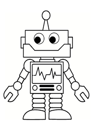 We are always adding new ones, so make sure to come back and check us out or make a suggestion. Free Easy To Print Robot Coloring Pages Robots Drawing Robot Art Robots For Kids