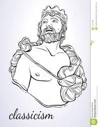 греческий бог мифологический герой древней греции нарисованное