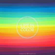 Colour Backgrounds Free Life In Color Background Vector Free Download