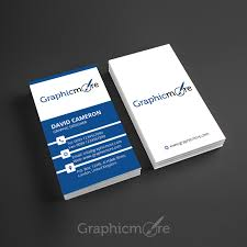 business card template designs corporate vertical business card template design free psd file