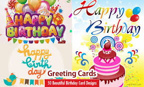Birthday On Day Card Beautiful Happy Birthday Greetings Card Design Examples