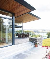 Steel Framed Houses A Steel Frame And Stone Home Homebuilding Renovating