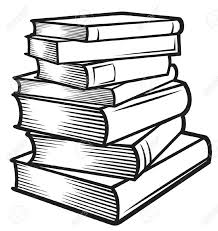 stack of books clipart картинка books journaling and journal