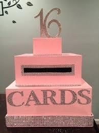 diy sweet 16 centerpieces light pink sweet card box home improvement loan rates
