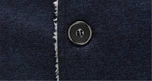 cruiize mens warm overcoat jacket stand collar fleece wool blend pea coat b07628z2s7