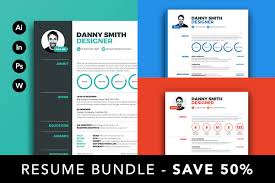 Resume Bundle Save 50% ~ Resume Templates ~ Creative Market