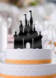 Disney Castle Wedding Cake Topper