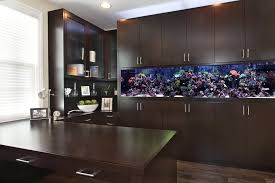fish tank for office. fish tank room divider home office contemporary with recessed lights modern cabinet and drawer pulls for