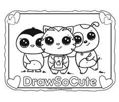 38 Best Draw So Cute Images Easy Drawings Drawings Kawaii Drawings