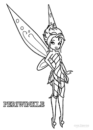 These disney coloring pdf pages are great party activities too. Printable Disney Fairies Coloring Pages For Kids