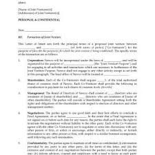 Letter Of Intent Template Business Save Loi Format Ozilmanoof ...