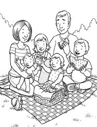 Family Coloring Pages Coloring Pages