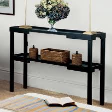 black console table decor. Contemporary Console Image Of Skinny Console Table Decor With Black