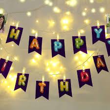 personalized happy birthday wall decor