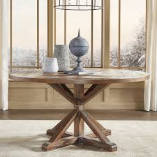 table graceful rustic round dining 27