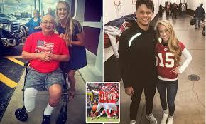Stepfather of Kansas City Chiefs QB's girlfriend dies after ...