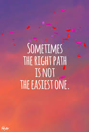 Weekly Affirmation The Right Path Quotes Citation Citations