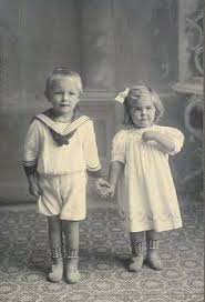 Image result for images of scary boy and girl twins