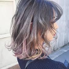 新鮮なピンクアッシュのヘアカラーで周りの視線を釘付けに Sucle