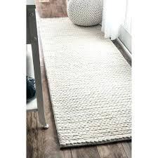 white runners rugs handmade casual braided wool off white runner rug x 8 black and white white runners rugs