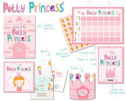 Princess Potty Chart Princess Potty Training Gift Set With Book Potty Chart