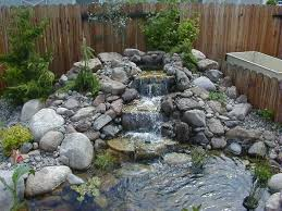 water features waterfalls and ponds