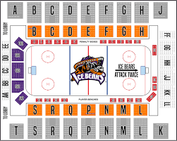 Seating Chart Knoxville Ice Bears