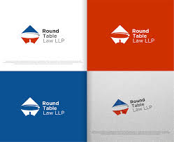 logo design by rideaz for round table law llp design 15366955